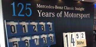 Mercedes celebrates 125 Years of Motorsport at Silverstone