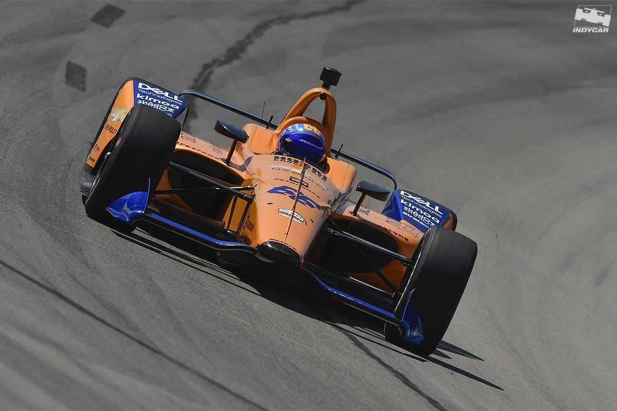 Fernando Alonso, McLaren, Indy500