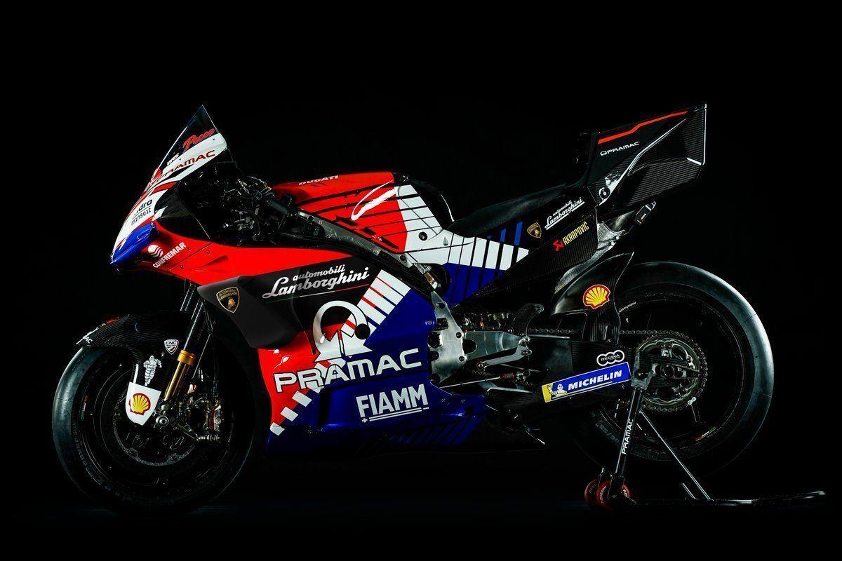 Pramac joins forces with Lamborghini in Americas MotoGP race