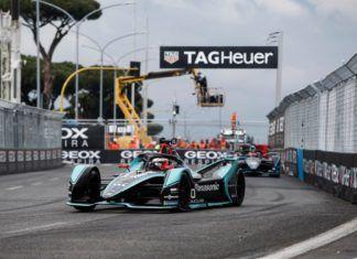 Mitch Evans, Formula E Rome EPrix