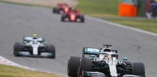 Mercedes ahead of Ferrari in F1 Chinese GP