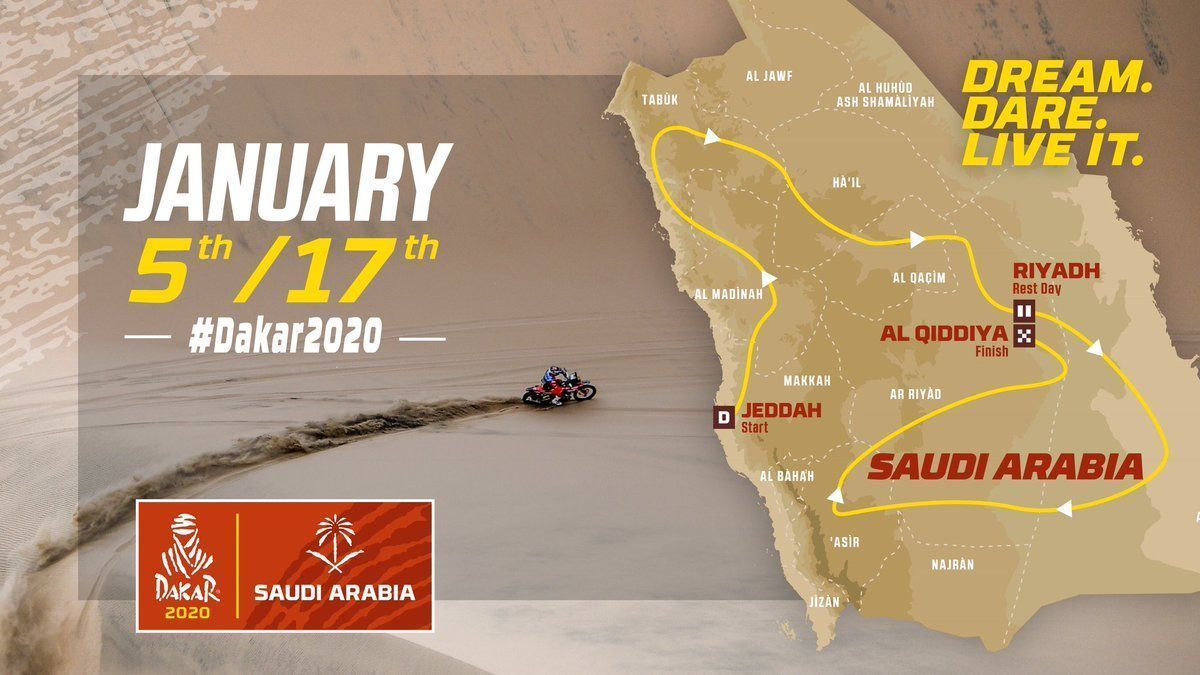 Dakar Rally, 2020 Saudi Arabia