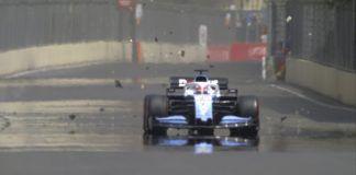 George Russell, Williams, F1 Azerbaijan GP