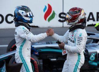 Mercedes ahead of Ferrari, Azerbaijan GP
