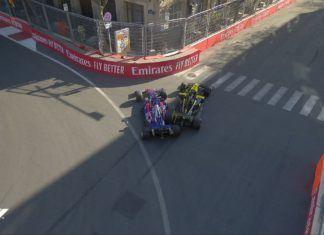 Daniel Ricciardo and Daniil Kvyat incident, Azerbaijan GP