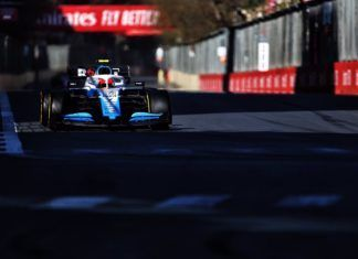 Robert Kubica, Williams, Azerbaijan GP