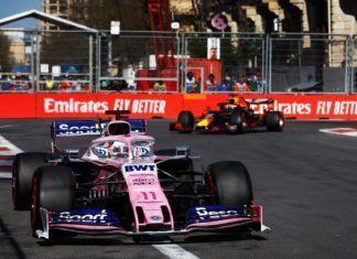 Sergio Perez and Lance Stroll score points in Azerbaijan GP