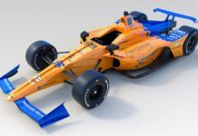 Fernando Alonso, McLaren 2019 Indy500 car