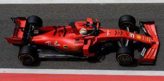 E-cigarette branding on Ferrari F1