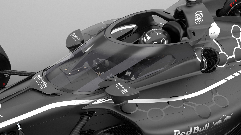 Red Bull's Aeroscreen in IndyCar