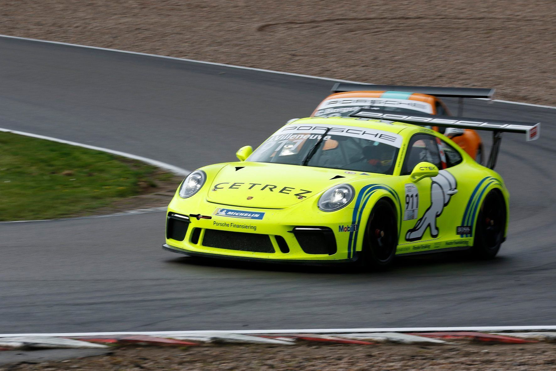 Jacques Villeneuve, Porsche Carrera Cup Scandinavia