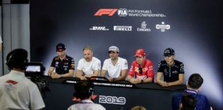 F1 drivers react