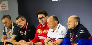 F1 talks standardisation