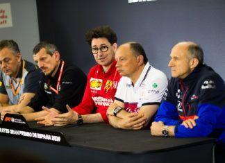 F1 talks standardisation