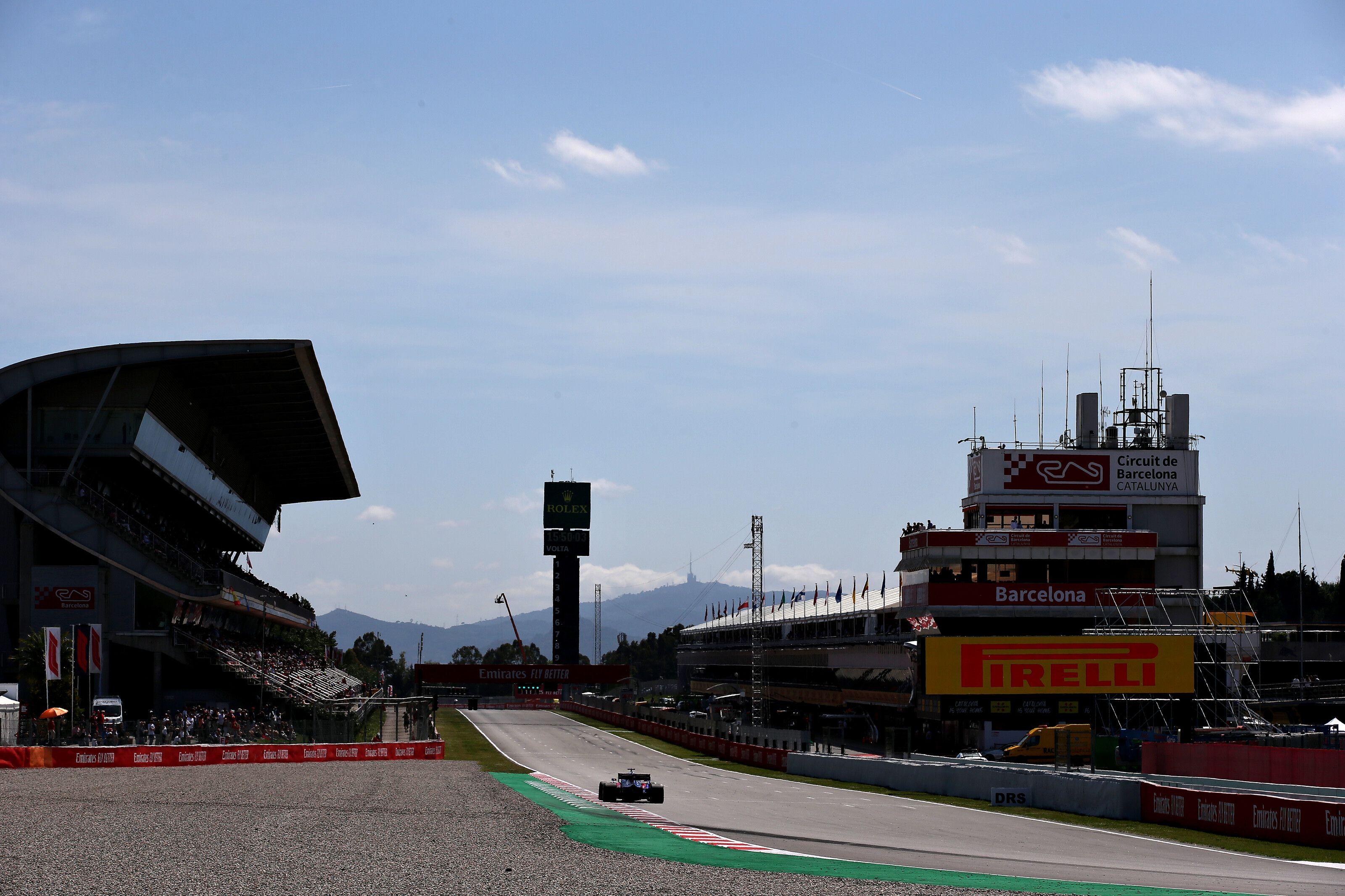Spanish GP, RACC, F1
