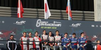 #8 Toyota wins WEC 6 Hours of Spa-Francorchamps