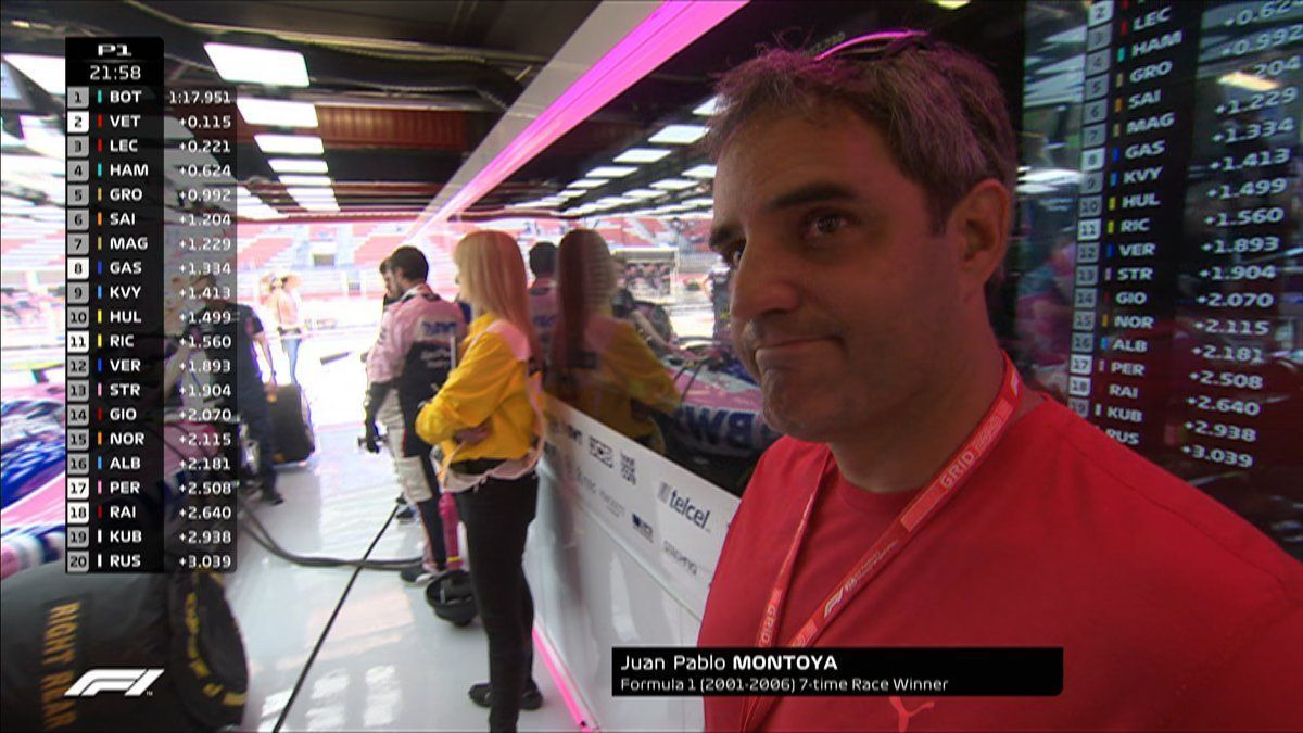 Juan Pablo Montoya, F1, Racing Point, Lance Stroll