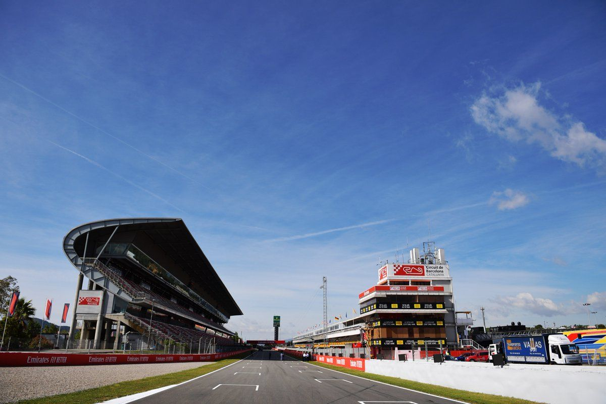 F1 Barcelona Test