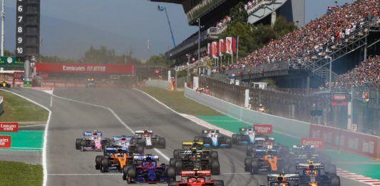 Mercedes, Lewis Hamilton against Valtteri Bottas, F1 Spanish GP