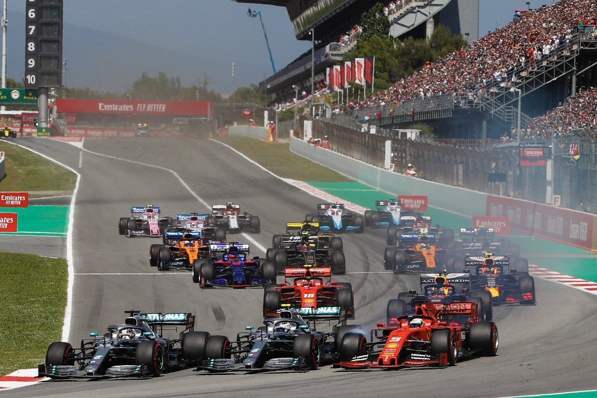 Mercedes, Lewis Hamilton against Valtteri Bottas, F1 Spanish GP