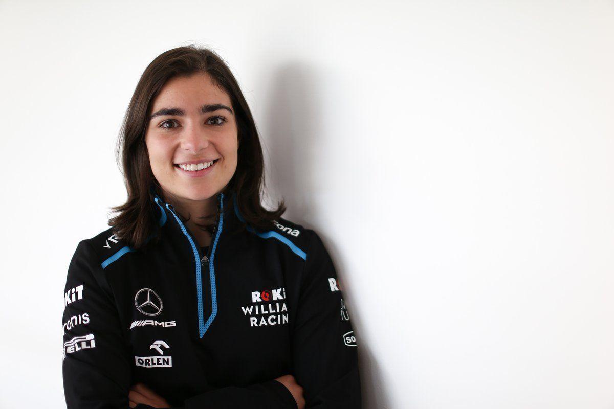 Jamie Chadwick, Williams, F1