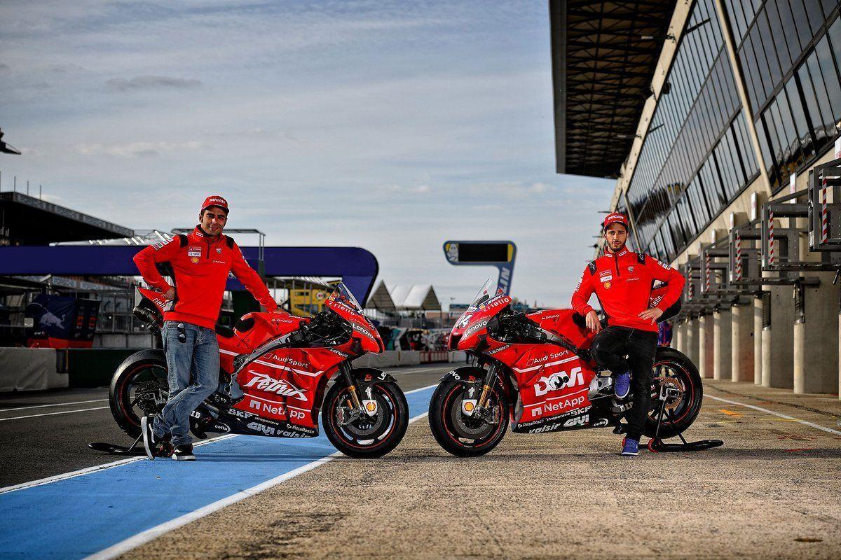 Andrea Dovizioso, Danilo Petrucci, Ducati, French GP, MotoGP