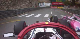 Kimi Raikkonen with Lance Stroll, F1, Monaco GP