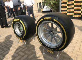 Pirelli F1 2021 tyre test