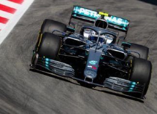 F1: Bottas y Mercedes dominan el viernes con Haas como cuarto equipo
