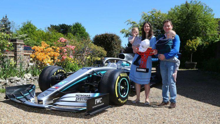 Harry Shaw, Mercedes, Lewis Hamilton