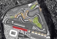 Rio de Janeiro, F1 Brazil GP circuit layout