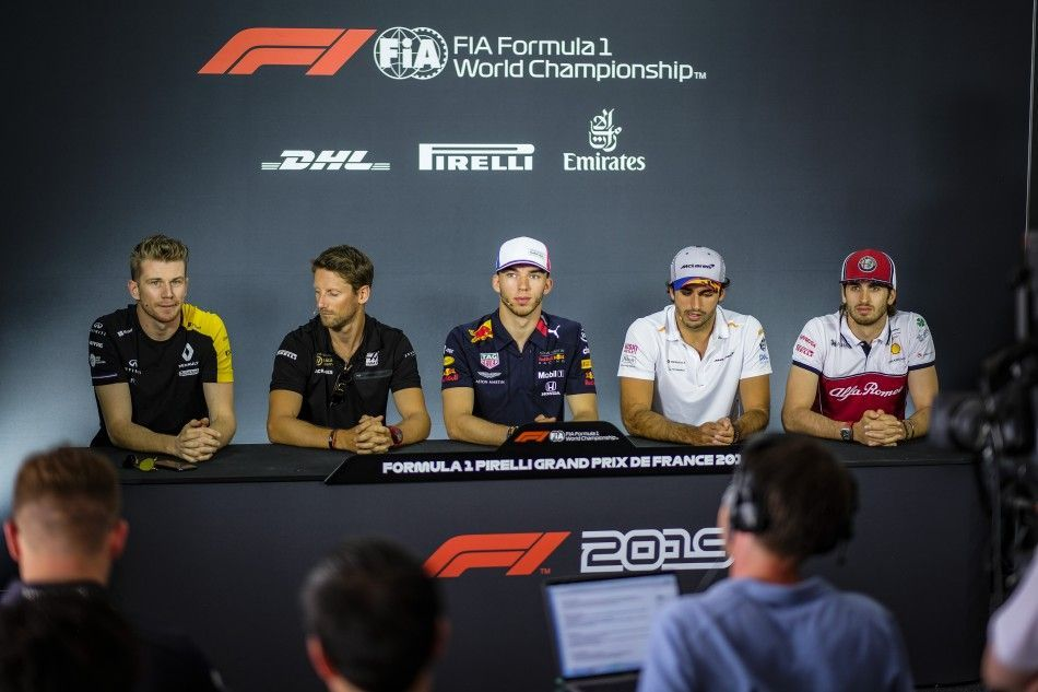 F1 drivers speak for Sebastian Vettel and FIA stewards