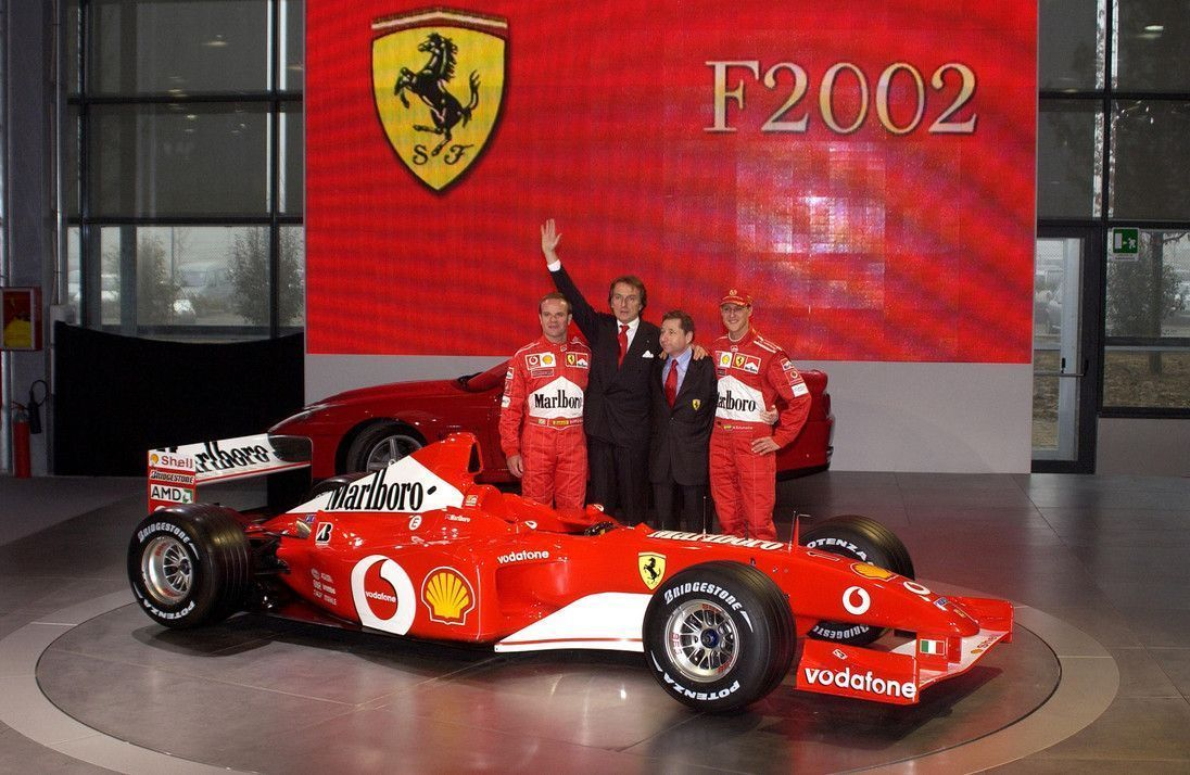Schumacher S Ferrari F2002 To Be Auctioned During F1 Abu Dhabi Gp