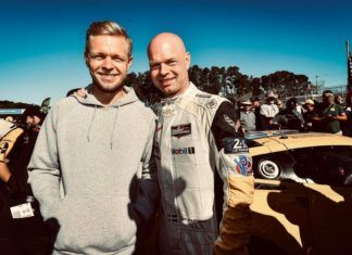 Kevin Magnussen with Jan Magnussen, F1, Le Mans 24 Hours