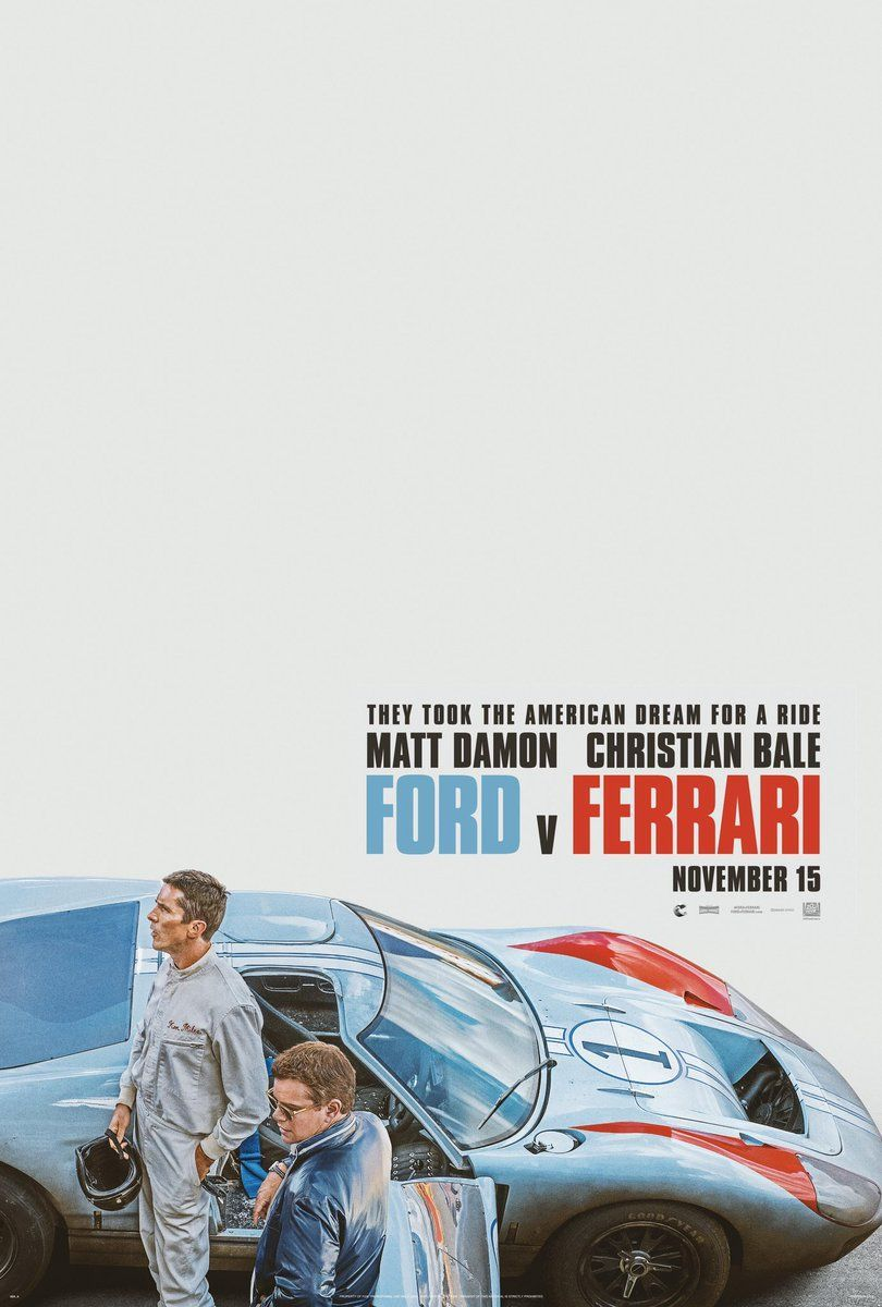 Official Poster of Ford v Ferrari