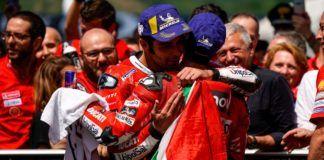 Danilo Petrucci dedicates win to Andrea Dovizioso
