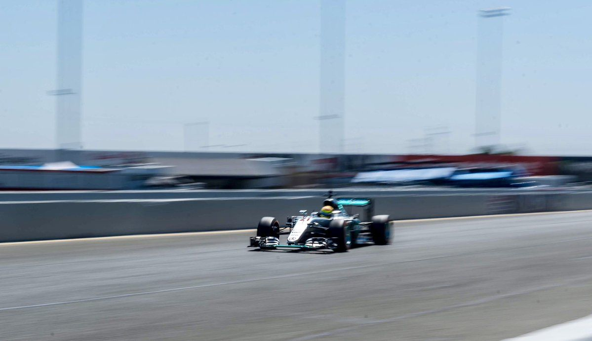 Esteban Gutierrez, Mercedes, Sonoma Raceway