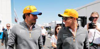 Carlos Sainz and Lando Norris, F1