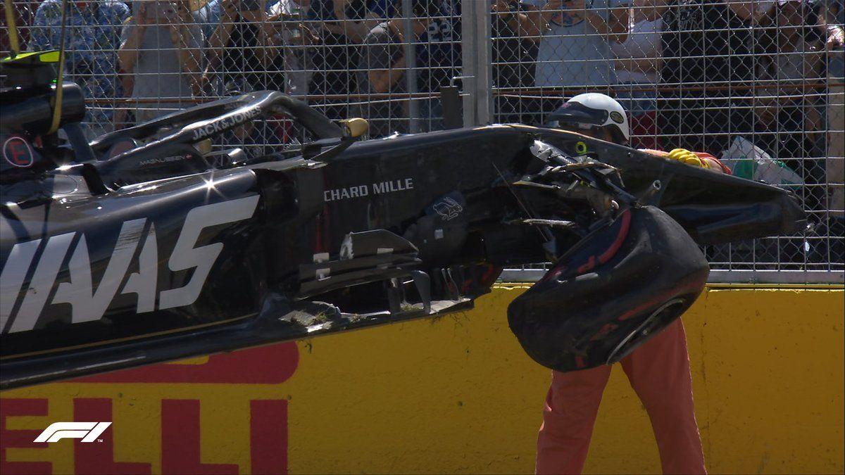 Daniel Ricciardo elated, Max Verstappen, Kevin Magnussen not