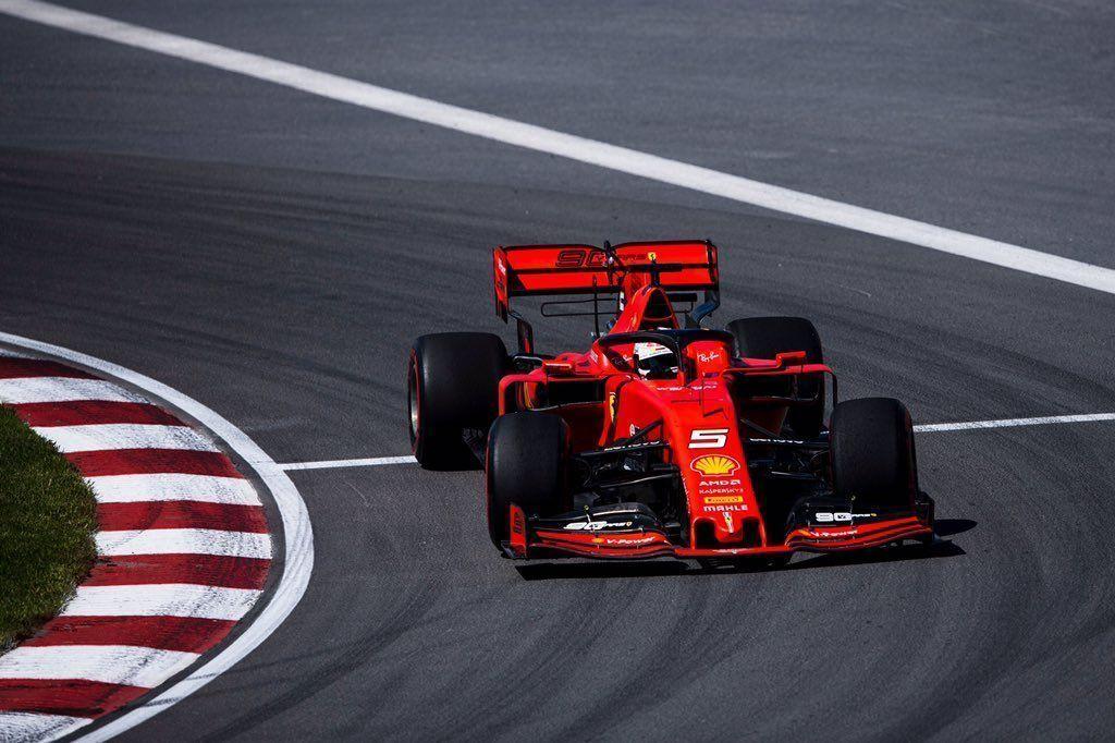Sebastian Vettel, Ferrari, Canadian GP