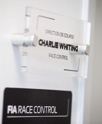 Charlie Whiting Race Control Room, Canadian GP, F1, FIA
