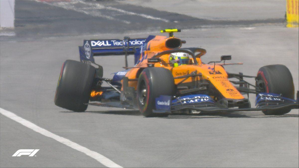 Carlos Sainz and Lando Norris, F1, McLaren, Canadian GP