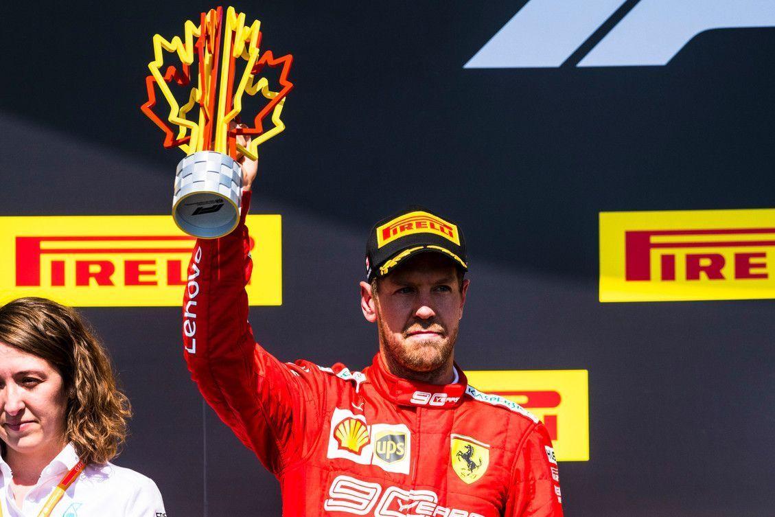Sebastian Vettel, F1, Ferrari, Canadian GP