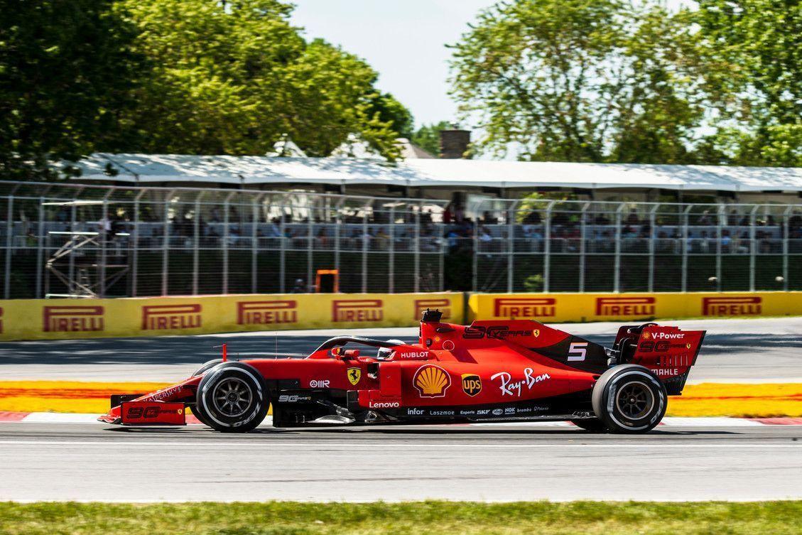 Sebastian Vettel, FIA, F1, Ferrari, Canadian GP
