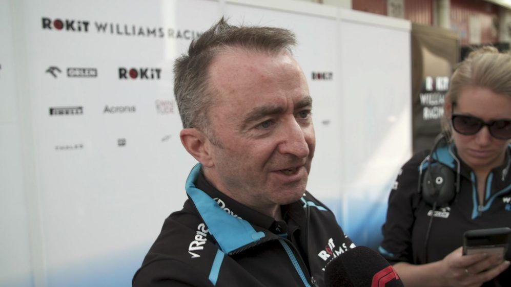Paddy Lowe, Williams, F1