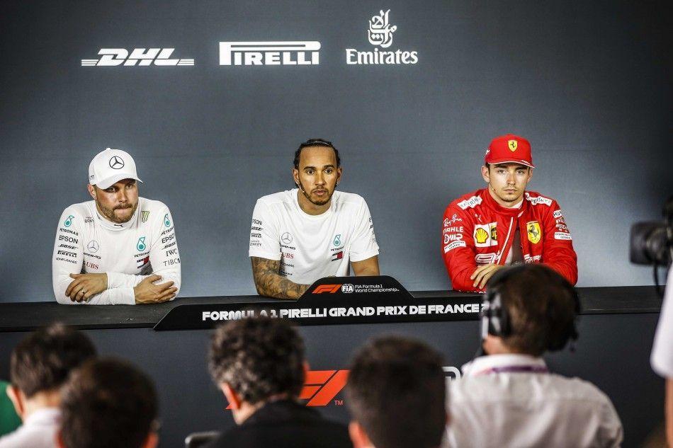 Lewis Hamilton, Sebastian Vettel and other speak on F1 French GP