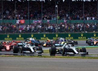 Lewis Hamilton, Valtteri Bottas, British GP
