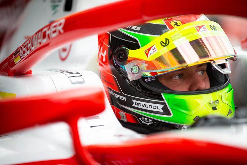 Mick Schumacher, Ferrari, F2004, F1, German GP