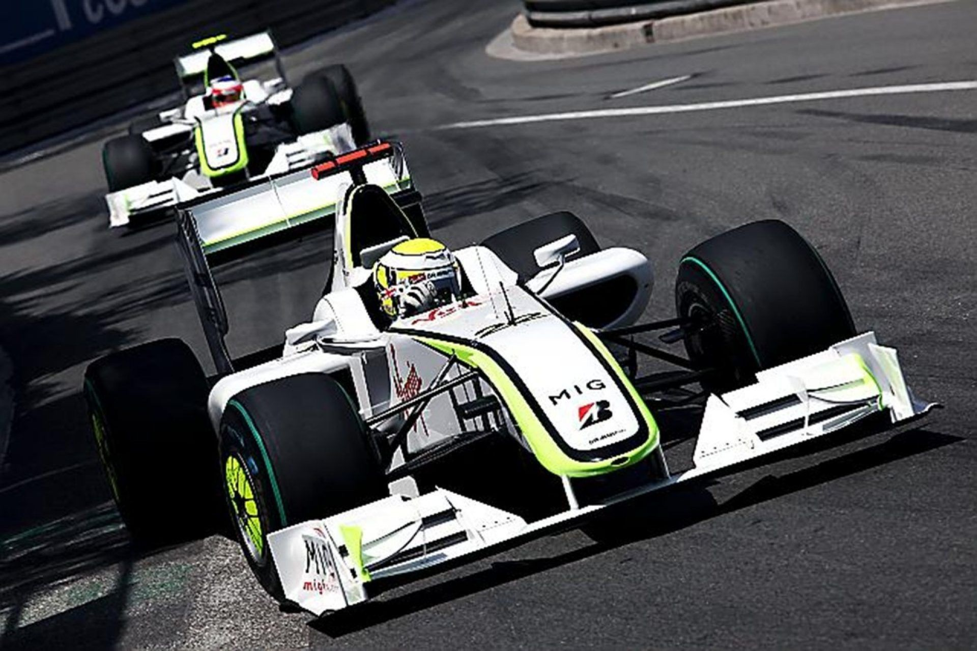 Jenson Button, Brawn GP, British GP, F1
