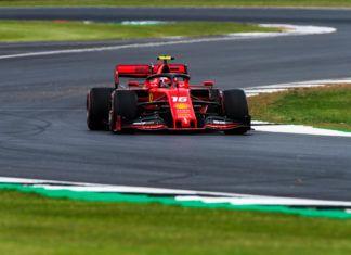 Charles Leclerc, British GP, F1